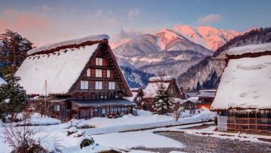 Du lịch ngôi làng cổ Doremon (Shirakawago) – đẹp như tranh cổ tích giữa mùa Đông